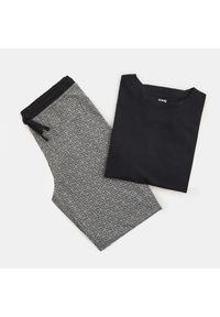 Czarna piżama Sinsay