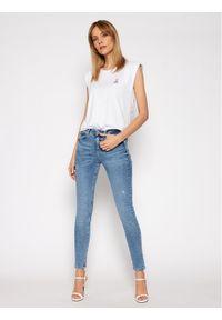 Niebieskie jeansy slim Liu Jo #5