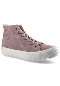 Big-Star - Sneakersy BIG STAR EE274113 Róż. Kolor: różowy