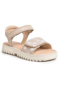 Beżowe sandały Geox na lato