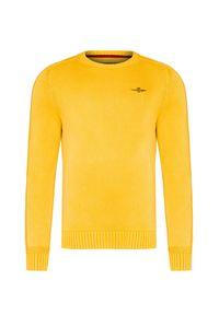 Żółty sweter Aeronautica Militare