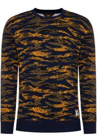 Lee Bluza Seansonal Camo L80ASPLR Kolorowy Regular Fit. Wzór: kolorowy