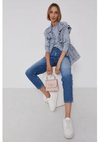 Pepe Jeans - Jeansy Rachel. Stan: podwyższony. Kolor: niebieski