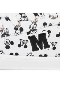 Białe półbuty Mickey&Friends z cholewką