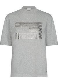 TOMMY HILFIGER - Tommy Hilfiger T-Shirt ICONS WW0WW27840 Szary Loose Fit. Kolor: szary