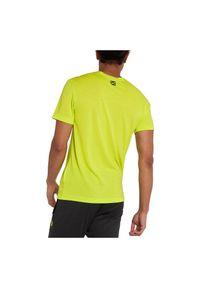 Koszulka treningowa meska Energetics Milon 294919. Materiał: poliester, materiał. Długość rękawa: krótki rękaw. Długość: krótkie. Sport: fitness