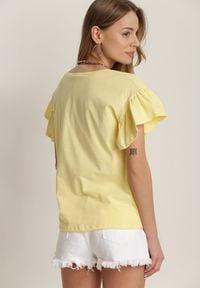 Renee - Żółta Bluzka Phoeithe. Kolor: żółty