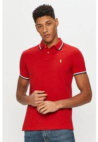 Czerwona koszulka polo Polo Ralph Lauren casualowa, polo, na co dzień, krótka