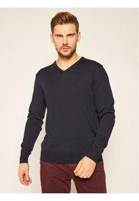 Niebieski sweter klasyczny Digel