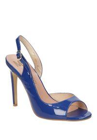Niebieskie sandały Mario Bolucci na lato