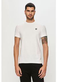 Biały t-shirt Diesel z nadrukiem
