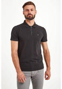 Koszulka polo Emporio Armani z nadrukiem, sportowa, polo