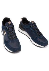 Colmar Sneakersy Travis Drill 013 Granatowy. Kolor: niebieski
