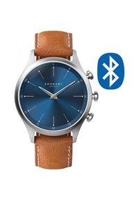Kronaby Wodoodporny podłączony zegarek Sekel A1000-3124. Styl: retro