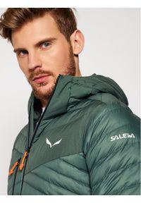 Zielona kurtka puchowa Salewa
