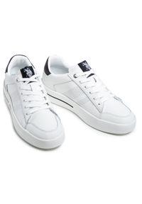 U.S. Polo Assn - Sneakersy U.S. POLO ASSN. - Vega 141 VEGA4141S1/L1 Whi. Okazja: na co dzień. Kolor: biały. Materiał: skóra ekologiczna, materiał. Szerokość cholewki: normalna. Styl: elegancki, casual