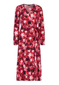 Czerwona sukienka letnia Marc O'Polo polo