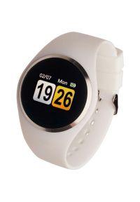 Biały zegarek GARETT elegancki, smartwatch