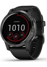 GARMIN - Zegarek sportowy Garmin Vivoactive 4 Grafitowy (010-02174-13). Kolor: szary. Styl: sportowy