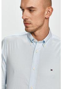 Niebieska koszula TOMMY HILFIGER casualowa, button down