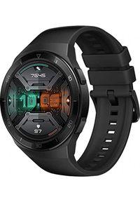HUAWEI - Smartwatch Huawei Watch GT 2e Czarny (Hector-B19S). Rodzaj zegarka: smartwatch. Kolor: czarny