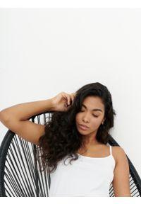 outhorn - Top na cienkich ramiączkach damski. Materiał: bawełna, dzianina, elastan. Długość rękawa: na ramiączkach. Wzór: gładki
