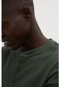 Koszulka z długim rękawem Mango Man na co dzień, casualowa