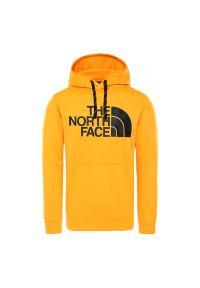 Bluza The North Face z aplikacjami, na co dzień, klasyczna, z kapturem