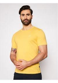 JOOP! Jeans - Joop! Jeans T-Shirt 15 Jjj-32Alphis 30027746 Żółty Regular Fit. Kolor: żółty