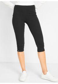 Czarne spodnie bonprix