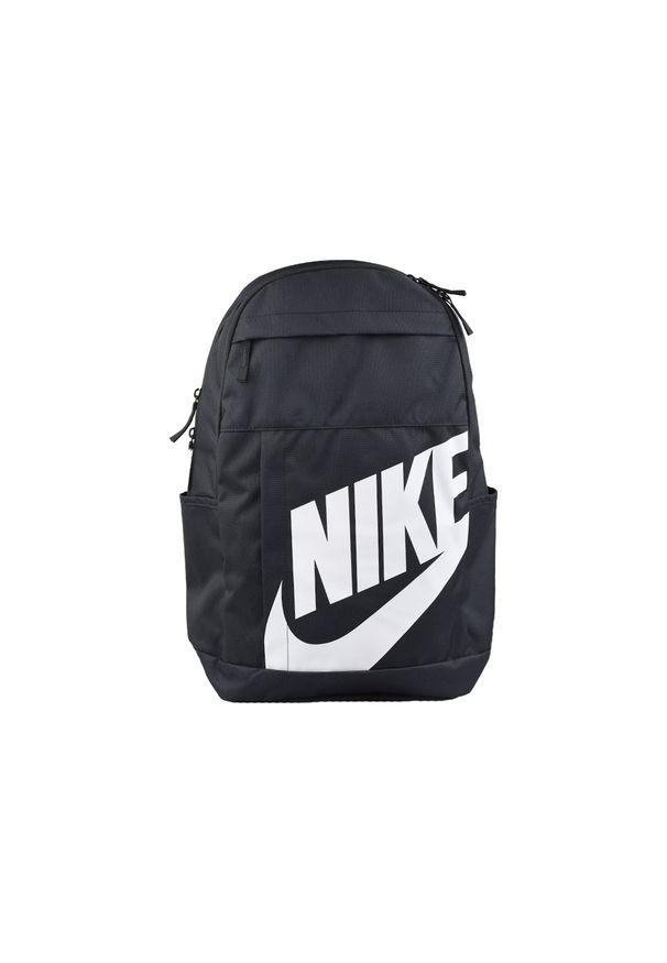 Czarny plecak Nike w kolorowe wzory