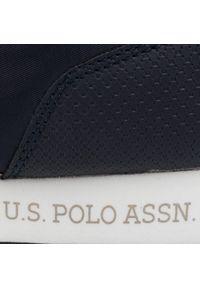 Niebieskie półbuty U.S. Polo Assn casualowe, z cholewką, na co dzień