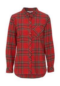 Cellbes Koszula flanelowa czerwony w kratkę female czerwony/ze wzorem 34/36. Kolor: czerwony. Wzór: kratka