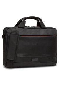 Lanetti - Torba na laptopa LANETTI - BMM-S-060-10-05 Black. Kolor: czarny. Materiał: materiał
