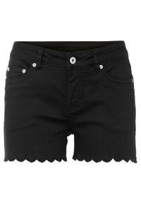 Czarne spodnie bonprix krótkie, na lato