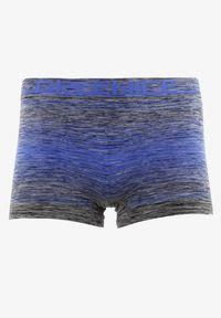 Born2be - Niebieskie Majtki Baccite. Kolor: niebieski. Materiał: tkanina. Długość: krótkie. Wzór: nadruk