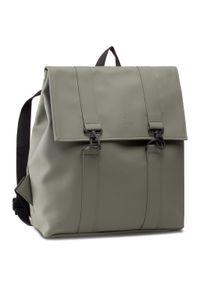 Zielona torba na laptopa Rains