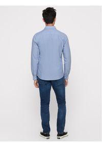 Only & Sons - ONLY & SONS Koszula Alvaro Life 22006479 Niebieski Slim Fit. Kolor: niebieski
