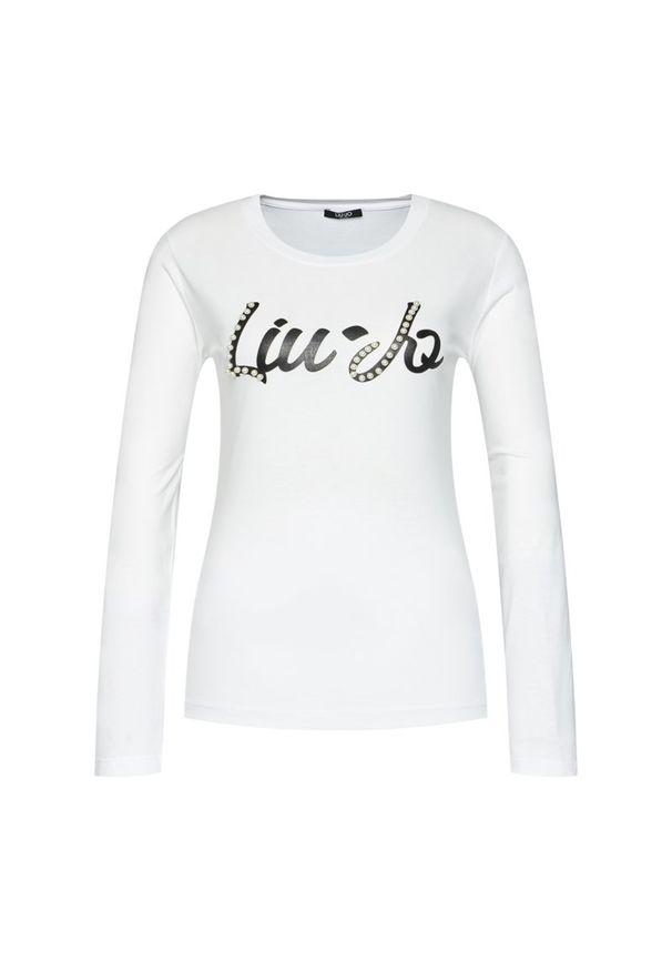 Biała bluzka Liu Jo Sport sportowa