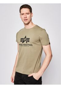 Zielony t-shirt Alpha Industries