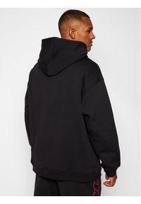 MSGM Bluza 2940MM171 207599 Czarny Regular Fit. Kolor: czarny