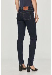 Niebieskie jeansy Trussardi Jeans klasyczne, gładkie #4