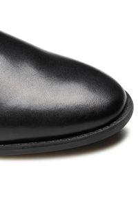 Czarne buty komunijne Lasocki Young z cholewką