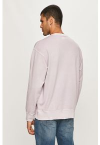 Fioletowa bluza nierozpinana Levi's® bez kaptura, na spotkanie biznesowe, biznesowa
