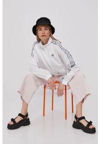 Biała kurtka adidas Originals krótka, bez kaptura