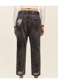 SER.O.YA - Szare jeansy Omar. Stan: obniżony. Kolor: szary