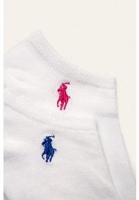 Polo Ralph Lauren - Skarpetki (6 pack). Kolor: biały