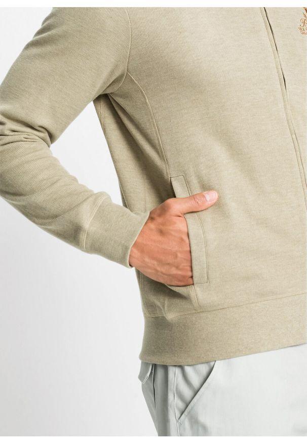 Beżowa bluza bonprix melanż