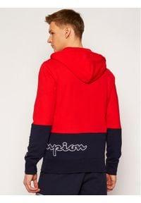 Champion Bluza 214205 Czerwony Comfort Fit. Kolor: czerwony