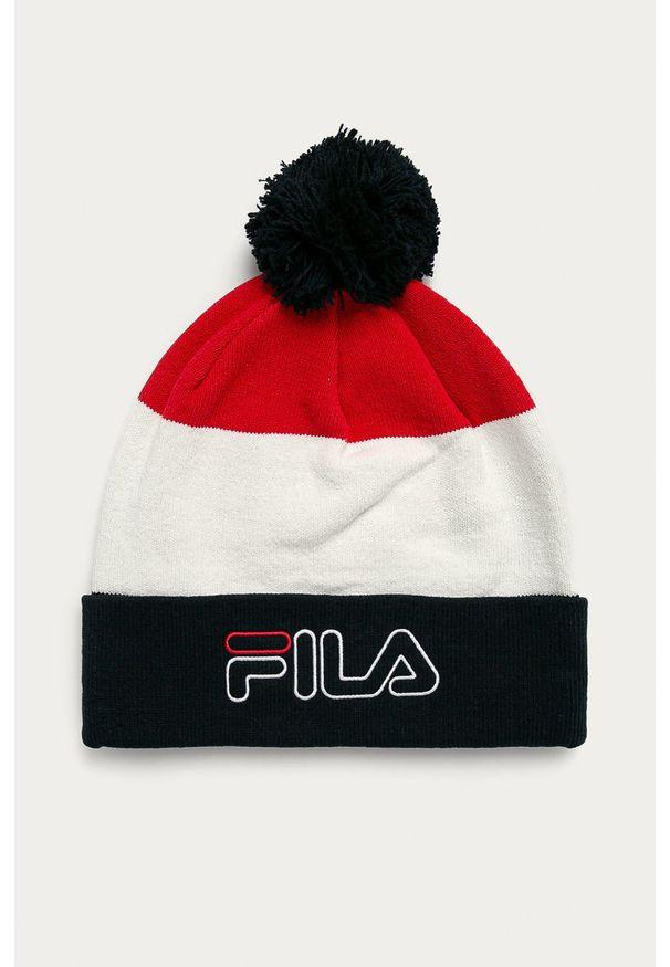 Wielokolorowa czapka Fila